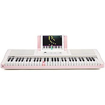 smart piano keyboard 61 key portable light digital piano keyboard electronic. Black Bedroom Furniture Sets. Home Design Ideas