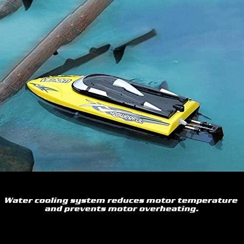 YUEBAOBEI Highspeed RC Ferngesteuertes Speedboot, 2,4 Ghz 25