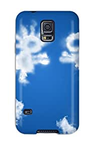 New Snap-on CaseyKBrown Skin Case Cover Compatible With Galaxy S5- Loving Clouds