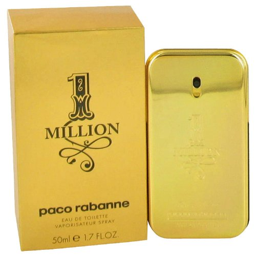 9790770391 Paco Rabanne 1 million Cologne for Men 1.7 oz Eau De Toilette Spray 41utwGmDH7L