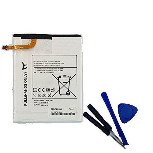 Powerforlaptop Replacement Internal Battery For Samsung GALAXY TAB 4 7.0 SM-T230 T230R T230NU EB-BT230FBU +Tools
