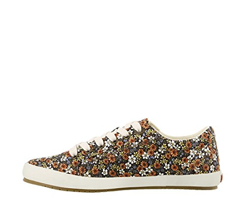 Taos Footwear Womens Star Fashion Sneaker Coral Floral Multi