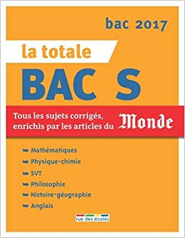 La totale Bac S (French) Paperback – August 26, 2016