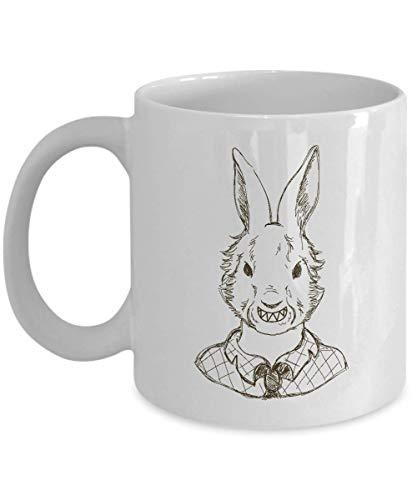 Scary Bunny Halloween Costume Beautiful Cute Mug Gift -