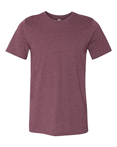 CN MEN GREENWICH FITTED TEE, HEATHER MAROON, M