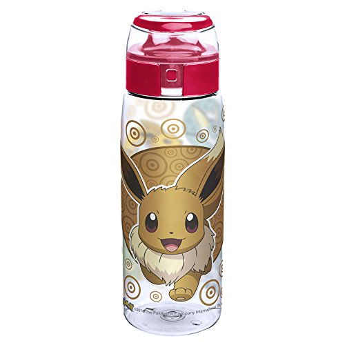 Zak Designs Pokemon 25 oz. BPA-Free Wide Mouth Bottle, Eevee