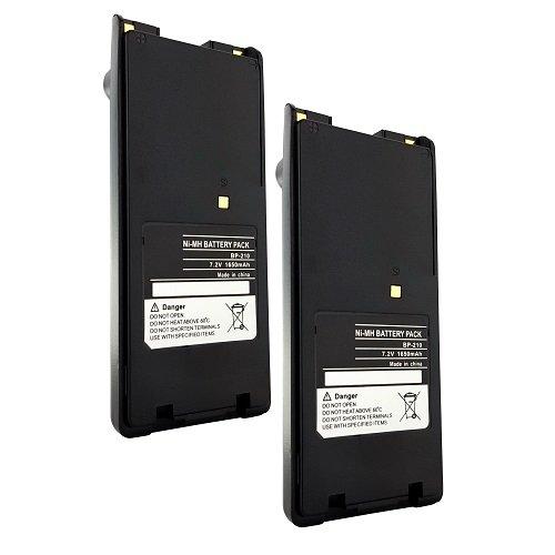 F21 Radio - 2PACK - BP-209 BP-222 Battery for ICOM IC-F40GS IC-F11 IC-F21 IC-F22 Radio Model