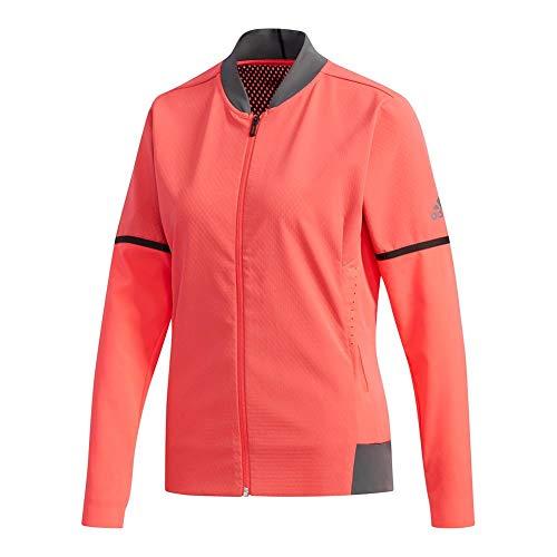 adidas Women`s MatchCode Tennis Jacket Shock Red (Medium Shock Red - TennisExpress)