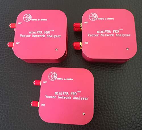(VNA 100K-200MHz Vector Network Analyzer miniVNA PRO Lite VHF/NFC/RFID RF Antenna Analyzer VNA Signal Generator SWR/S11 S21/Smith)