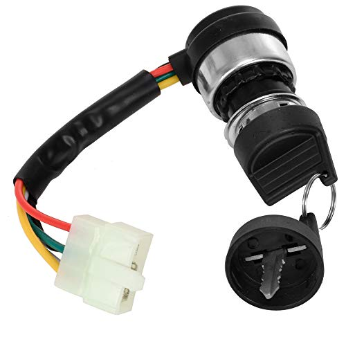 HIAORS 5 pin Ignition Switch for 150cc 250cc Hammerhead Roketa Go Kart Dune Buggy Carter Parts