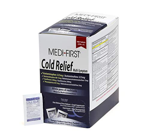 (Medique Products 82213 Cold Relief Tablets)