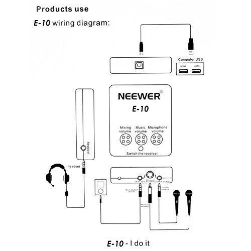 Neewer Micrófono de condensador Profesional, suspensión ajustable ...