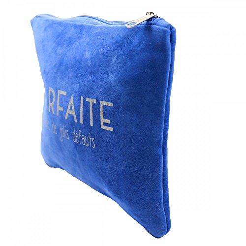 Primtex - Cartera de mano para hombre Azul