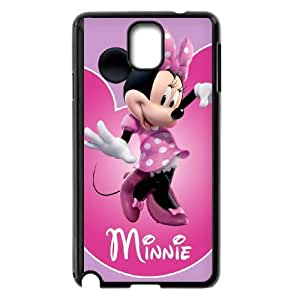 Samsung Galaxy Note 3 Cell Phone Case Black Minnie Mouse M1A1NS