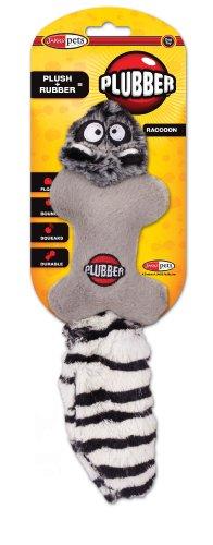 Jakks Plubber Dog Toy, Raccoon, Small, My Pet Supplies