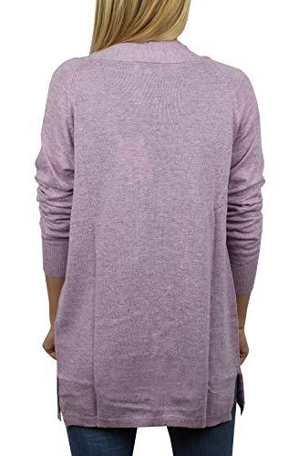 L'avant Cachemire 100 Violet Longues Boutonné Homme D'hiver Sur Cardigan 1stamerican Pull Tricot Manches Pure 0fEUfRq