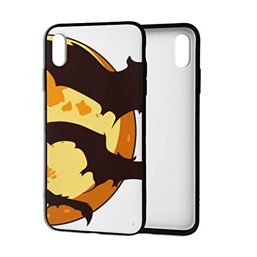 Case for iPhone Xs Max 6.5-Inch,Bat Cute Halloween.png PC Cover Slim Gel Phone Case for iPhone Xs Max 6.5
