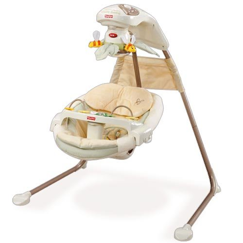 Fisher Price Baby Papasan (Fisher Price Baby Nature's Touch Papasan Cradle Swing M5585)