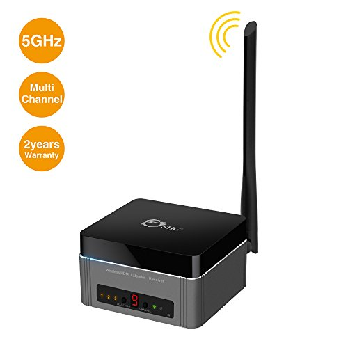 SIIG Full HD Multi-Channel Expandable Wireless HDMI Gateway Extender Receiver - Receiver Pro Wireless Multimedia