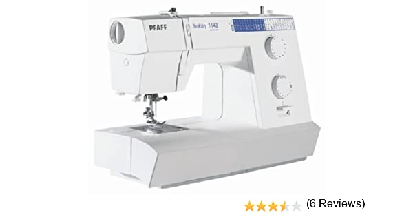 PFAFF 8962700011422 - Máquina de Coser Hobby 1142: Amazon.es: Hogar
