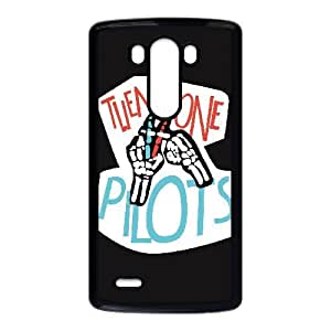 Personalized Durable Cases LG G3 Cell Phone Case Black twenty one pilots logo Gtcflc Protection Cover