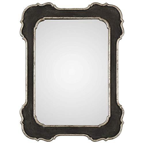 Uttermost Bellano Aged Black 31 1 2 x 42 Wall Mirror