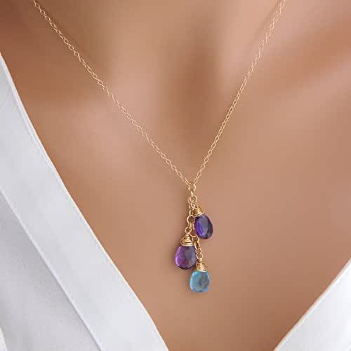 Amazon.com: Personalized Children Birthstone Mother ...