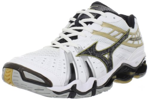 mizuno black and gold volleyball shoes