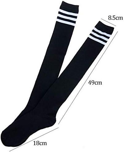 Gomerbesen Lot de 10 paires de chaussettes de cheville en coton pour femme