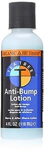 Organic Root Stimulator Tea Tree Oil Anti Bump Lotion, 4 Ounce