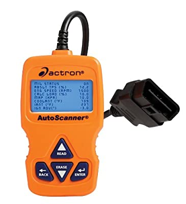 actron scanner how to use