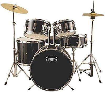 Cymbal and Throne Union DBJ5052 5-Piece Junior Drum Set with Hardware DB Dark Blue