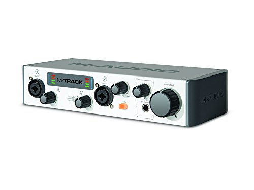 M-Audio M-Track MKII Two-Channel USB Audio Interface with Waves (Waves Vocal Bundle)