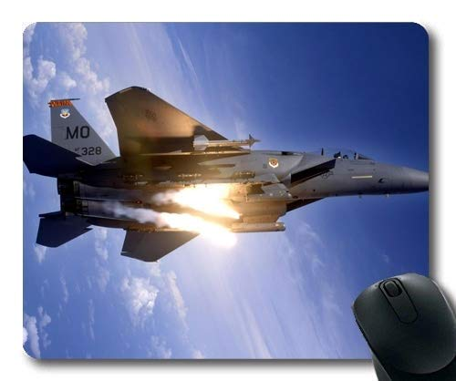 Fighter Planes,Comfortable Mouse Pad,Firefighter Gear,Mouse Pad with Stitched Edges