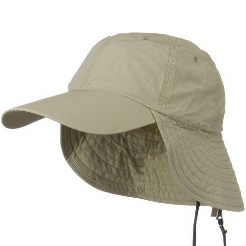 Juniper UV 50+ Outdoor Talson UV Flap Cap - - E4hats Flap Nylon Hat