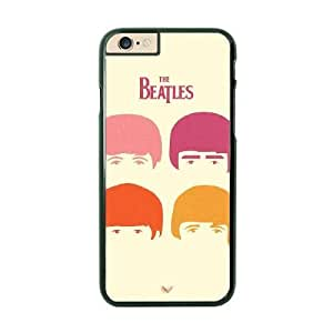 The Beatles Image On The iPhone 6 Plus Black Cell Phone Case AMW896711