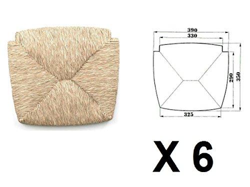 Sedute impagliate (mod. 1212 venezia) Ricambi per sedie [Set di 6 ...