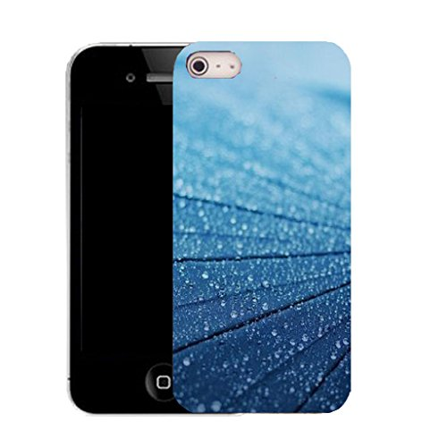 Mobile Case Mate IPhone 4 4S clip on Dur Coque couverture case cover avec Stylet - blue lumber Motif