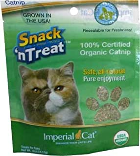 product image for Imperial Cat Snack And Treats, Certified Organic Catnip, 1/2-Ounce