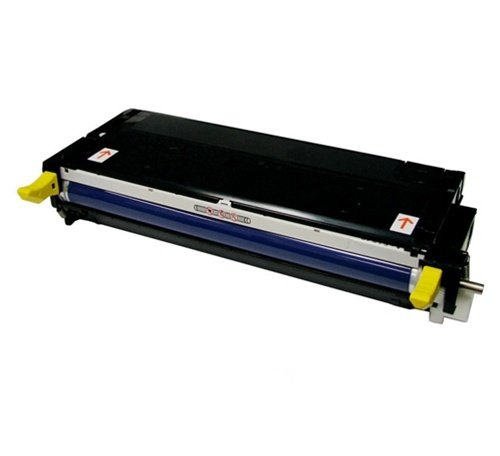 Xerox 113R00725 High Capacity Yellow Laser Toner Remanufactured Cartridge for Phaser 6180