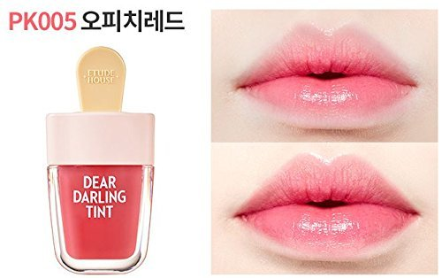 [Etude House] Dear Darling Water Gel Tint 4.5g /Ice Cream-Summer Edition (PK005 Oh Peach Red)