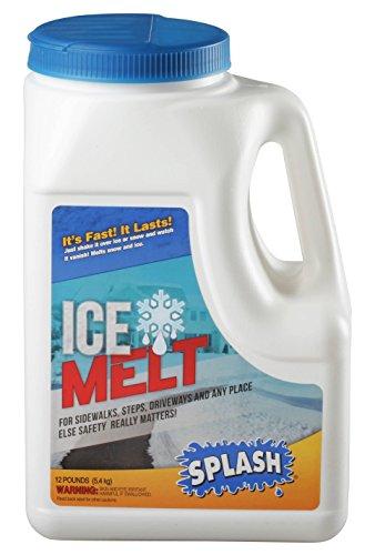 Ice Melt Snow (Splash Ice Melt, Snow & Ice Melter, 12 Lb Jug)