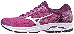Mizuno Women's Wave Rider 21 Running Shoe Athletic Shoe, Cloverwhite, 10 B Us