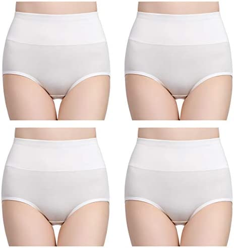 FR 46 Playtex Womens Ideal Beauty Shaping Briefs White Size US 16