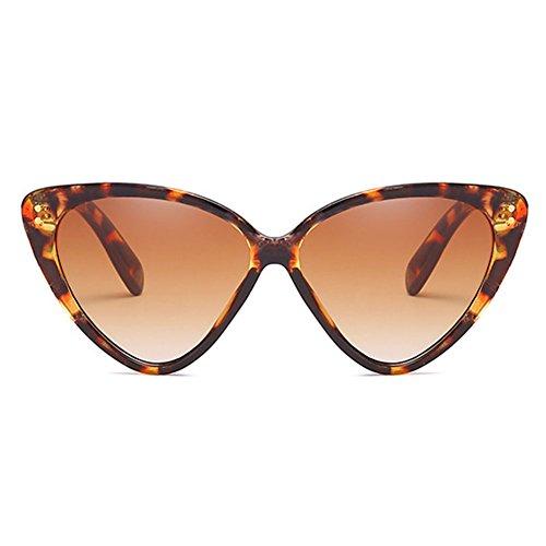 Eye Sunglasses C2 Vintage Eyeglasses Mujeres Sunglasses Stylish Highdas Triangle Cat BqwFdB