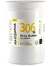 Naissance Sheasmör BIO (nr 306) 500 g – rent och naturligt, oraffinerat, ekologiskt certifierat, handknådad, vegansk och parfymfri – etiskt och hållbart tillverkat av Ghana