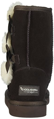 Koolaburra Av Ugg Kvinners Victoria Kort Mote Boot Sjokolade Brun