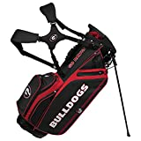 Georgia Bulldogs Caddie Carry Hybrid Golf Bag