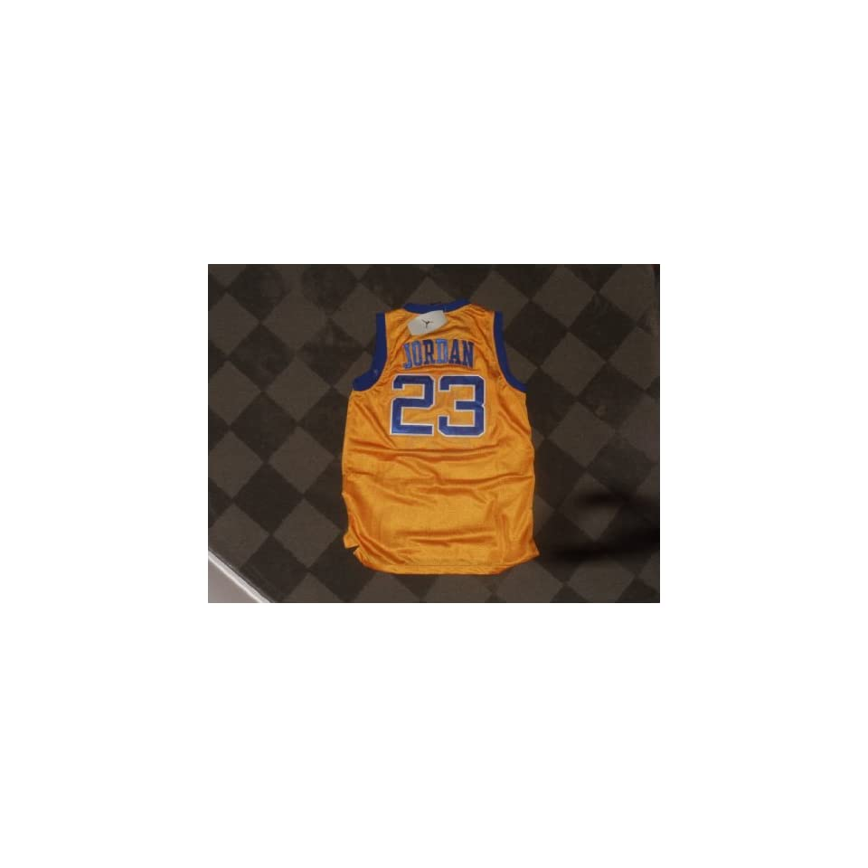 Brand New Michael Jordan Laney High School Jersey Sewn Jordan Brand