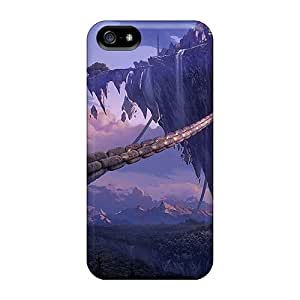 For Iphone 5/5s Fashion Design City In The Sky Case-aUFuG9203NJZmi